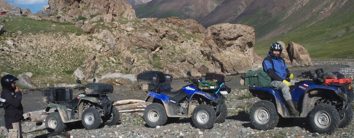 Offroad Quad Touren M41 Pamir Highway