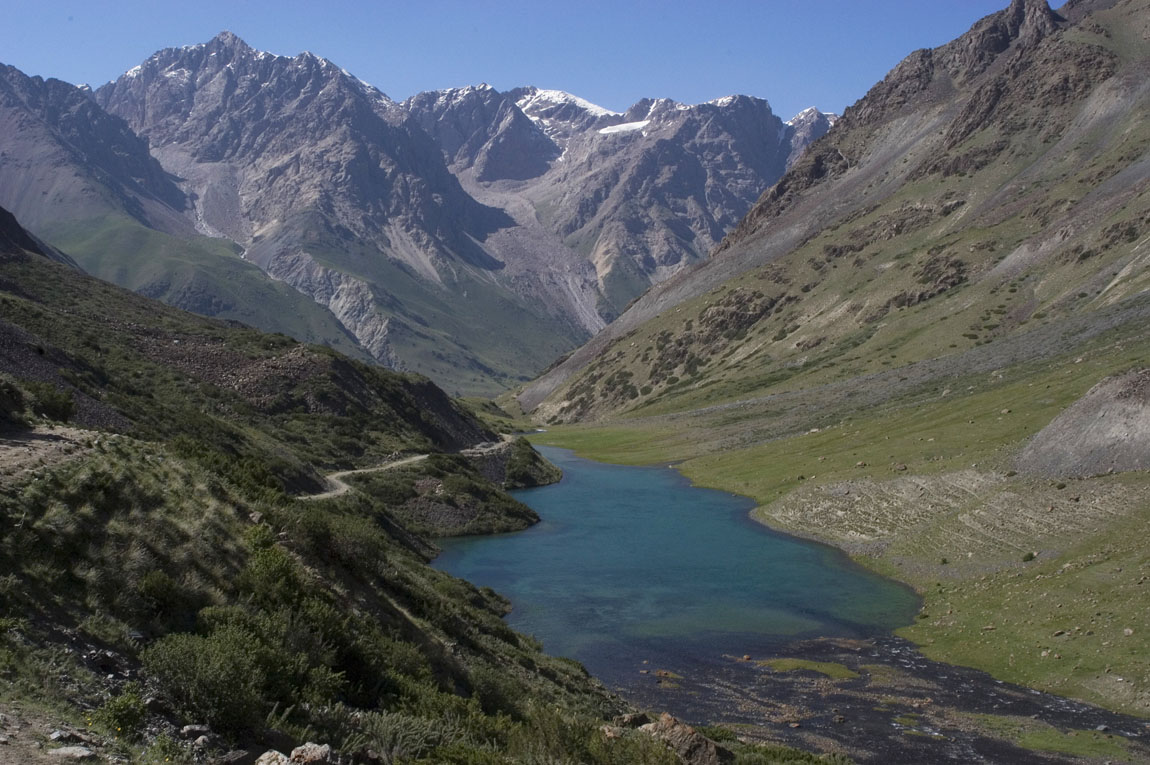 Tian Shan Mountains
