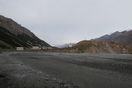 Engilchek - Glacier - River - Village