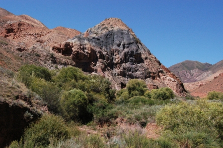 Kongorchok (Konorchek or Konortchok) canyon