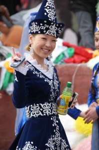 Bishkek - National costume - Nooruz