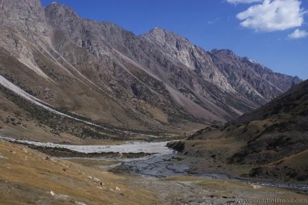 Juuku Ashuu - Juuku Pass 3.633 m