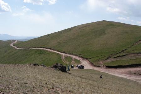 Kara-Keche Ashuu - Kara-Keche Pass 3.384 m
