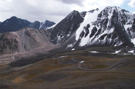 Kegety Ashuu Pass 3.780 m