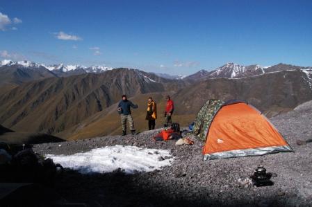 Kegety Ashuu - Kegety Pass 3.780 m