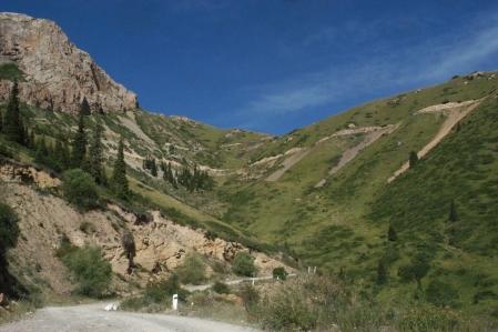 Moldo Ashuu - Moldo Pass 3.346 m