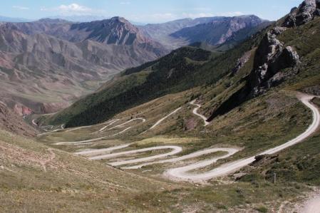 Terskey Torpok Ashuu - Terskey Torpok Pass 3.132 m