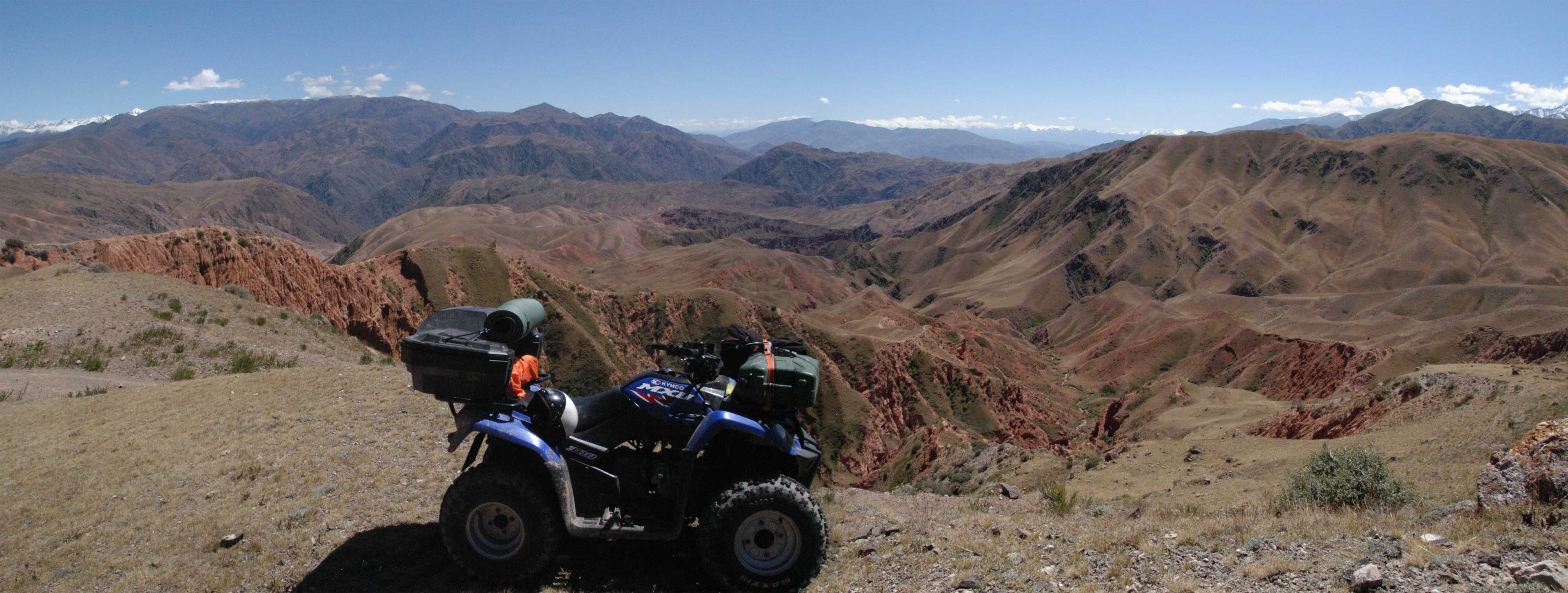 Offroad Quad Touren - Kegety Pass and to the Konortchok Canyons