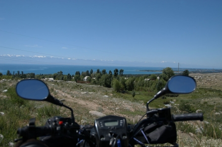 Silk Road - Kyrgyzstan Issyk-kul lake the pearl of Tian Shan