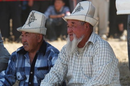 Traditional fashion of Kyrgyzstan