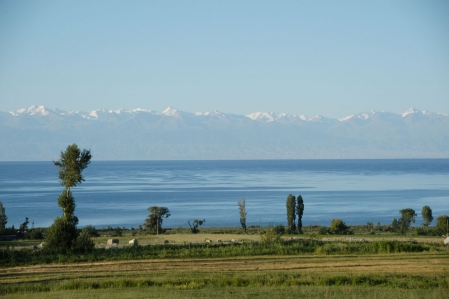 Issyk-Kul lake the pearl of the Tian-Shan