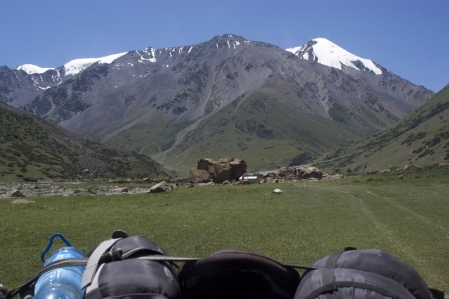 Silk road - Tian Shan Mountains
