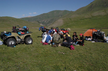 Off-road ATV tours - Chong Kemin national park