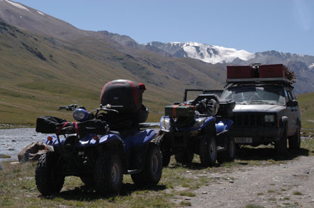 Off-road Quad tours - M41 Pamir Highway