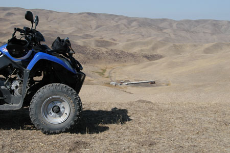 Off-road ATV tours - Taklamakan Desert (China)