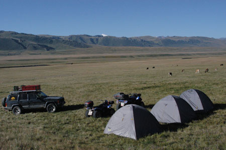 Off-road ATV tours - Tian Shan Mountains