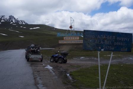 Ala Bel Ashuu Pass 3.184 m