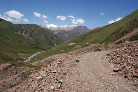 Kök-Ank Ashuu Pass 3.931 m