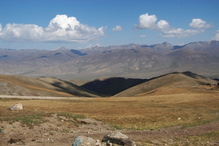 Shamaldi-Jilga Ashuu Pass 3.414 m