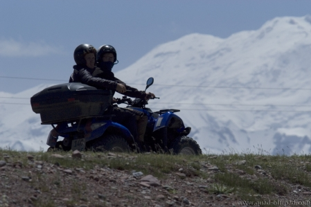 Quad offroad Adventure Tour on the M41 Pamir Highway